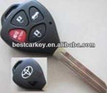 Top best auto key fob 4 button car key fob for toyota key fob case
