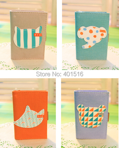 2014 New Korea Style Cute Forest Rallies Card Package / Bank Card Bag