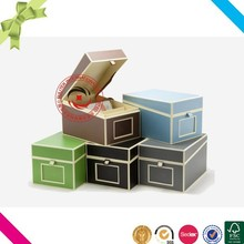 Popular fashion plain high quality cd box