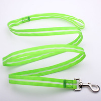 china custom top quality reflective safety led pet belt in EU standard