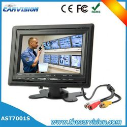 """7"""" lcd monitor bus cctv camera system 7"""" color tft lcd rearview monitor"""