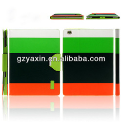 For Apple ipad 4 Protector Phone Cover / Strong Magnetic Case For iPad 4 Folio PU Cover / For iPad 4 Kickstand Case