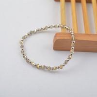 B7673-01New Element Jewelry Renegade Crystal Cluster Stretch Dot Bracelet
