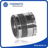 Stainless steel AM350 welded bellows for pump parts mechanical seal parts