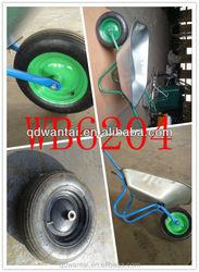 wb6204 Russia hot sale wholesale farming construction garden galvanized hand truck