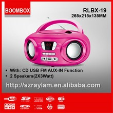 HOT! RLBX-19 retro radio cd player kid must like it