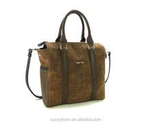 Italian Nubucke Unisex Casual Tote Bag