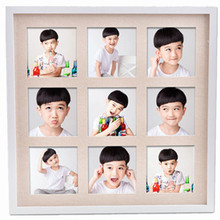 Scratchable latex photo frame designs / wholesale multi opening photo frames