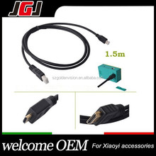 New Hot XM46 Full 1080P Video for HDMI to Micro for HDMI Cable for Xiaomi yi for Xiaoyi Sports Camera Length 1.5m