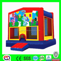 Commerical used portable playground inflatable kids play yard