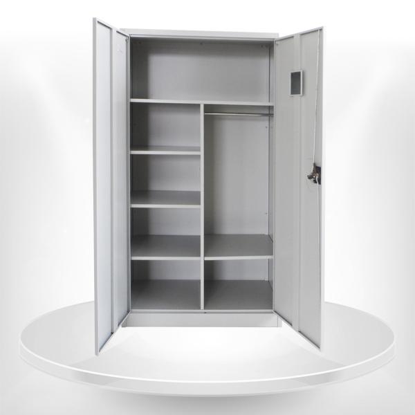 2 puerta de acero ropa del armario ropero local de ikea - Las puertas del armario ...