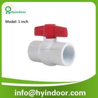 1 inch internal thread wire pvc plastic ball ball ball water switch valve