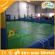 football area/inflatable water football soccer area/inflatable water soccer area