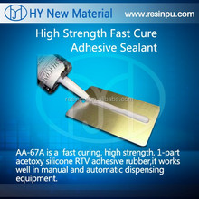 RTV AA-67A silicone adhesive & sealant Acetic Fast curing silicone rubber