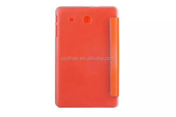 DIHAO Back Transparent Fold Stand PU Leather case for SAMSUNG Tab E 9.6inch T560 leather tablet cover