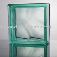 turquoise colored glass
