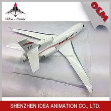 High quality cheap custom 1:48 pvc airplane model toys