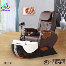 Nail salon spa joy massage pedicure chairs and basins/facial and pedicure chair/manicure and pedicure chair for sale KM-S117
