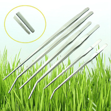 Professional straight and curve aquarium stainless steel plant tank tweezers, Factory outlet aquarium plant tank tool series