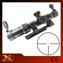 Tactical 1-6X24 riflescopes red dot laser sight scope