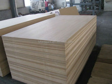 standard size 1200*2400 rubber wood board for furniture directly EO formaldehyde emission environmentally