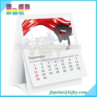 All kinds of calendars fold desk calendar large wall calendar