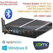 Large Gaming PC FFXI WAR Heaven II 4K HD Streaming All Support I7 Desktop Computer 8GB DDR3L 320GB Hard drive Max 16G RAM WIFI