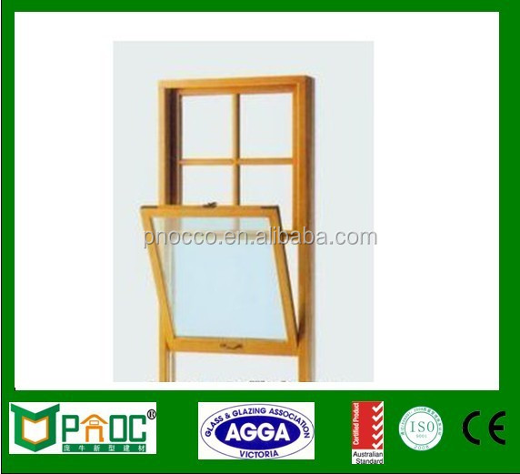 Aluminium Alloy Double Hung Windows With American Hardware