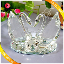 clear crystal swan gift glass animal wedding gift souvenir gifts