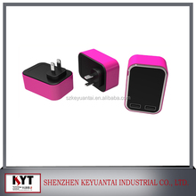 variable power adapter custom dual port usb travel wall charger