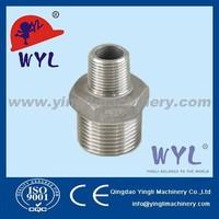 DIN2999 SS316 Cast Reducing hexagon nipple