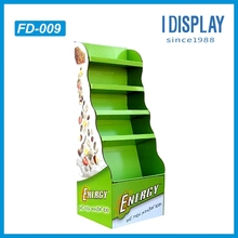 OEM services cardboard magnets display stand in store ,display rack for magnets