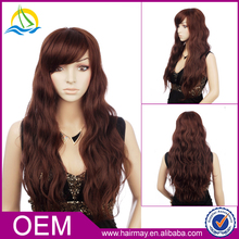 China shop online cheap mannequin heads synthetic deep wave long hair wigs for women