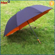Unique long handle double layer anti uv large umbrella from the rain