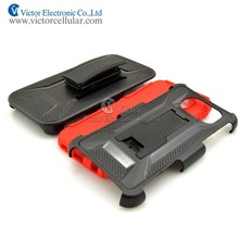 HOT holster belt clip combo case with kickstand for Samsung Galaxy S6
