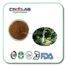 Health supplement black cohosh extract powder with Triterpenoid Saponins 2.5% HPLC