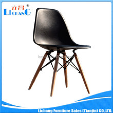 Plastic dining chair replica eames chair