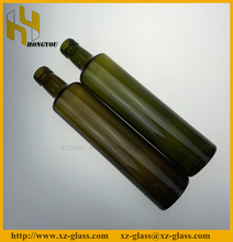 High quality various volume size olive oil glass bottle with aluminum cap