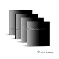 wall mounted bathroom/room glass infrared heating panel