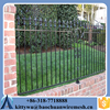Powder coated 1.5m* 2.4m wrought iron fence with Best price designs for steel fence