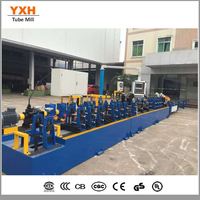 Welded Stainless Steel Pipe Tubing production line