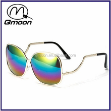 Big box 2015 rainbow lens wholesale reflective sunglasses mirror for promotional