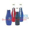 Custom Imprint REAL 3 mm Neoprene Zipper 330ml Beer Bottle Coolers, Insulator, Cozy,Coolies,Holders