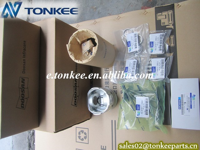 DOOSAN DB58T engine piston liner kit rebuld kit (3).JPG