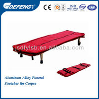Aluminum Alloy Funeral Stretcher for Corpse