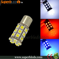 2014 hot sale 1156/1157 led auto reversing light super white/red/blue color
