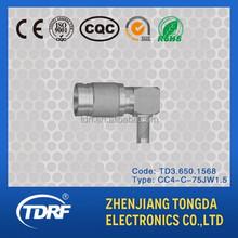 CC4 male/plug/jack coaxial connector