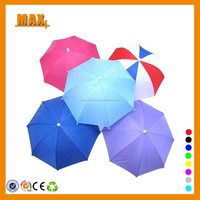Promotional cap umbrella hat for sale