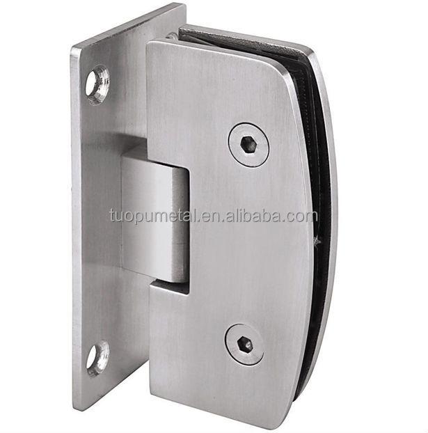 China new product stainless steel glass door hinge 180 for 180 degree hinge door