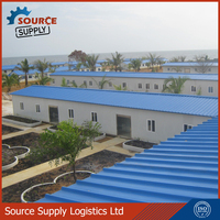 Prefabricated House for Living and Office at Mine Site